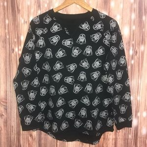 Sweaters - NWT Star Wars Pullover Sweater Black Silver